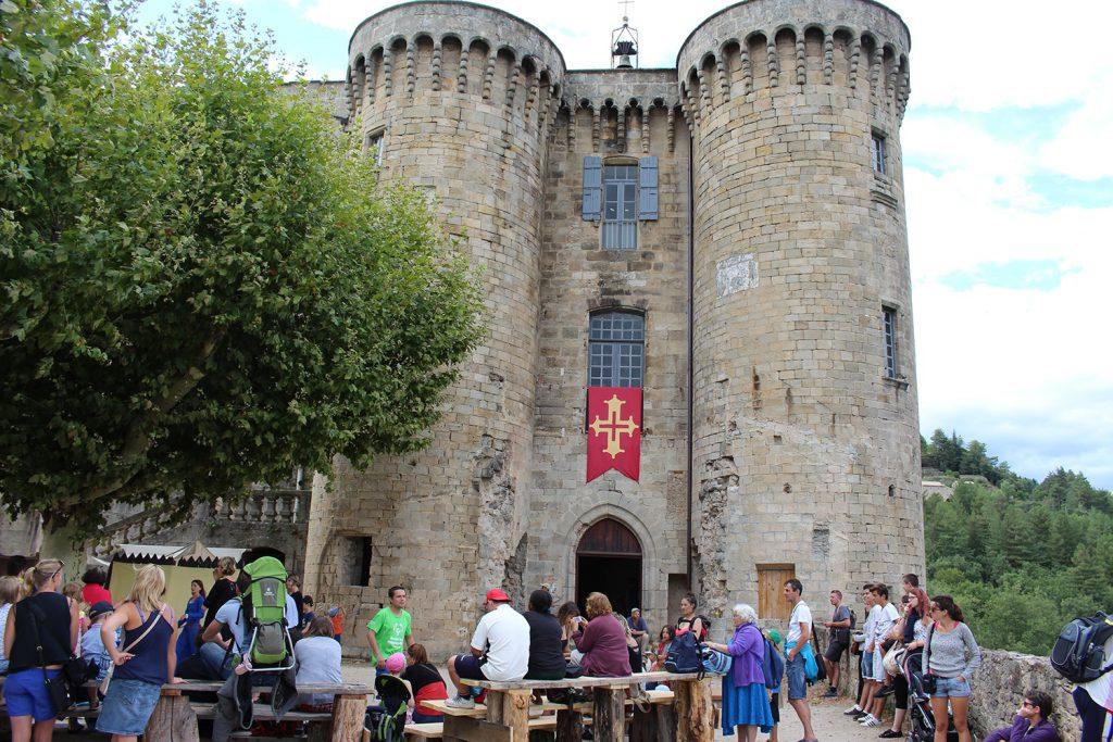 Chateau et public