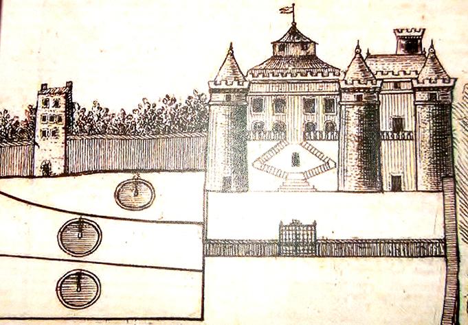 Plan chateau Soulavie